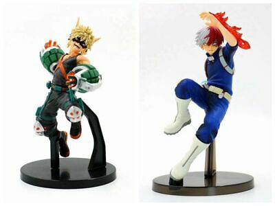 My Hero Academia Katsuki Bakugou Todoroki Shoto 2 pcs Toy Action Figures gift