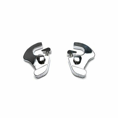 Quick Release Chrome Mounting Docking Latches For Harley Sissy Bar / Racks