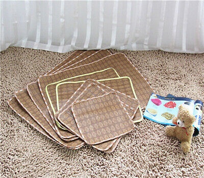 Pet Cooling Mat Non-Toxic Cool Pad Cooling Bed Cusion for Summer Dog Cat Puppy