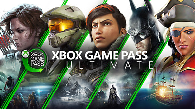 Game Pass Ultimate - 12 Monate - Xbox One/Win 10 - PC Gamepass + Gold - Xbox One