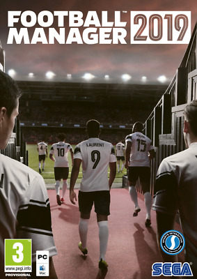 Football Manager 2019 - PC / Mac - Official Steam CD Key - EU Region (Inc UK)