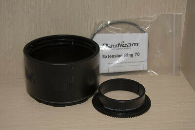 Nauticam 70mm N120 Extension Ring NA21170  and zoom Gear  NA19138 Nikon 16-35mm
