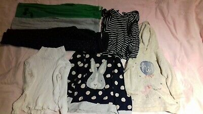 Girls Clothes Bundle Size 4-5  Seed, H&M Tops, Leggings