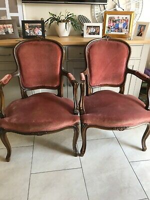 Two Regency Style Carver Chairs