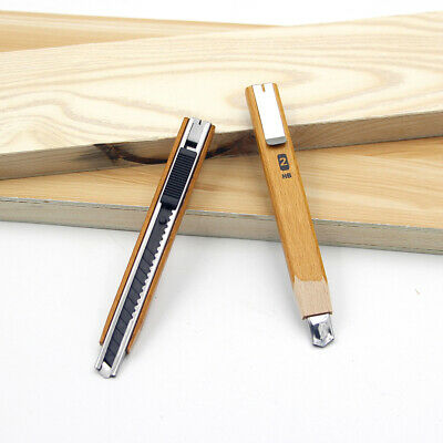 Snap Off Carpenters Pencil Refillable Lead Joinery Timber Marking Tool 2HB UK