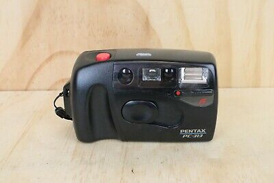 Pentax PC-313 Point and Shoot 35mm Film Camera