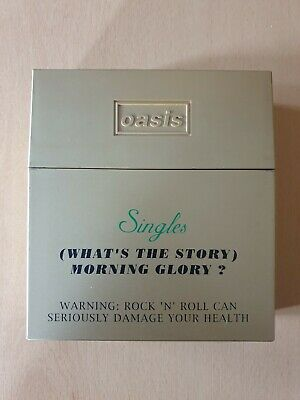 Rare Oasis (Whats the Story) Morning Glory Singles CD Boxset