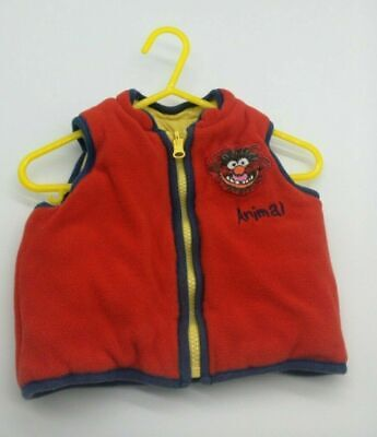 Baby Boy Clothes 6-9 Month Outfit Disney George Coat Jacket Red Bodywarmer