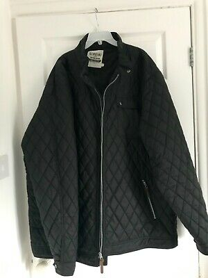 Mens 3xl black quilted jacket by Jacamo
