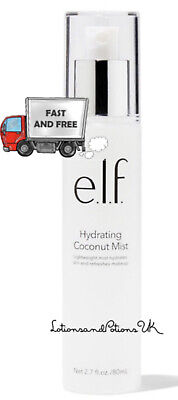 E.L.F ELF HYDRATING COCONUT MIST 80ML - Refreshes Makeup