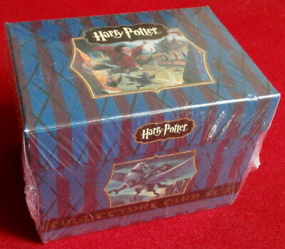 HARRY POTTER - COMPLETE SEALED LITERARY COLLECTOR'S SET, 45 cards, ARTBOX 2005