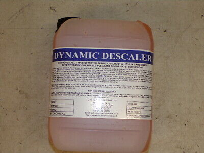 Industrial Dynamic Descaler for descaling of Heat Exchangers & Urinals 5lit