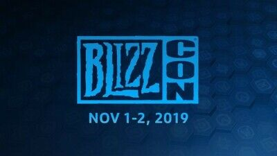 Blizzcon 2019 General Admission Pass Ticket with Footman Statue!