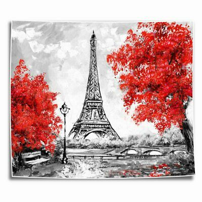 Paris Eiffel Tower HD Canvas prints Painting Home Decor Picture Room Wall art