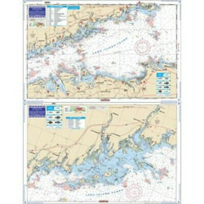 Waterproof Chart Central Long Island Sound