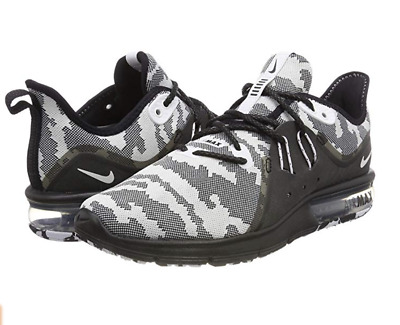 NIKE AIR MAX Sequent camo blackwhite Running Shoes womens