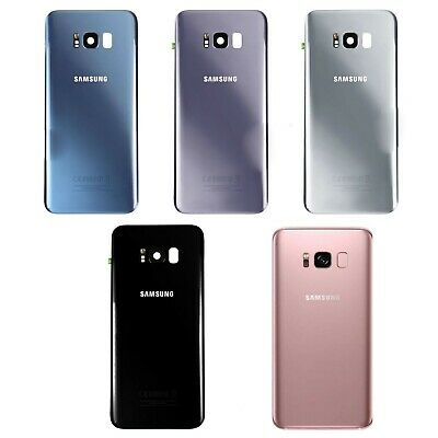 100% Genuine Samsung Galaxy S8 SM-G950F Rear Glass Battery Back cover Case