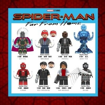 NEW SPIDERMAN AVENGERS minifigures end game MARVEL LEGO Fit mini figure UK HOME