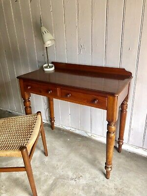 Antique Victorian Desk/Side Table/Hall Table/Drinks Table Circa 1800's Mahogany