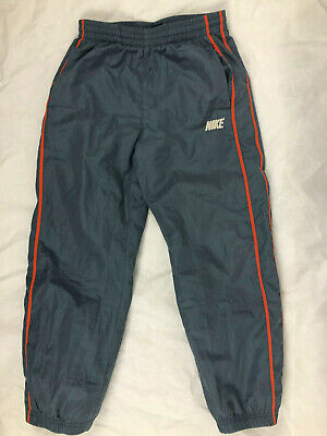 Nike M boys dark grey and red Athletic track suit Pants