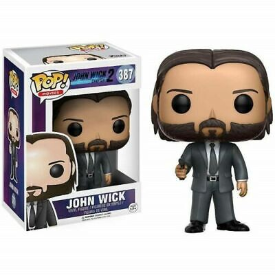Funko Pop Movies John Wick Vinyl Action Figures 10cm toy 387#