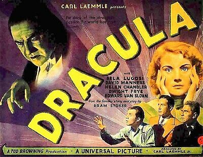 "16mm ""two reel"" digest DRACULA 1931 Bela Lugosi from Universal Eight"