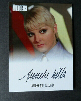The Avengers Complete Collection 2019 Anneke Wills Auto Avaw3 Unstoppable Cards