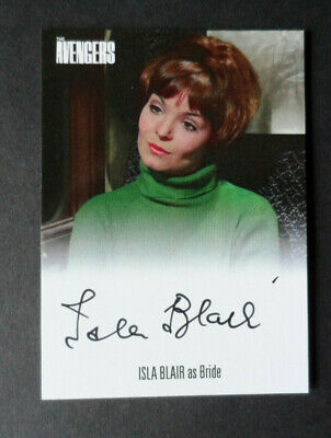 The Avengers Complete Collection 2019 Isla Blair Avib4 Unstoppable Cards