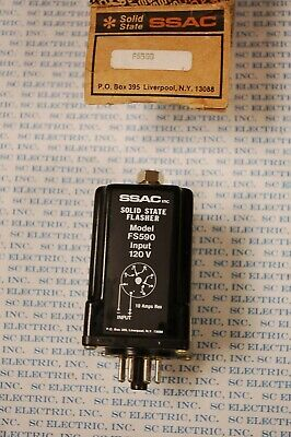 Ssac Fs590 Solid State Relay  12-Vac/Dc