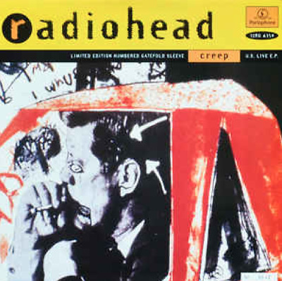 Radiohead  - Creep - 4 track EP - collectable CD