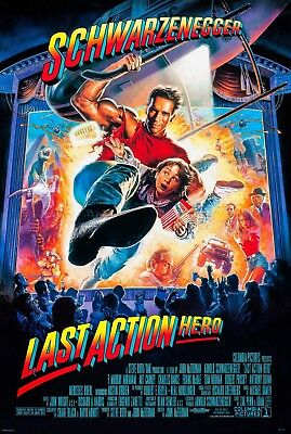 Last Action Hero (1993) Original Movie Poster  -  Rolled  -  Glossy