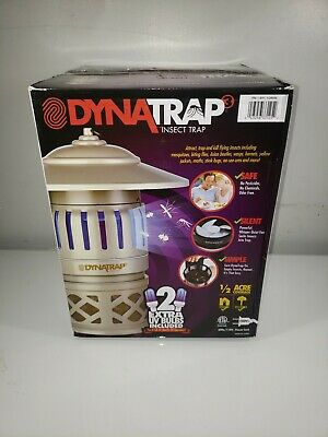 Dynatrap Insect Trap DT1050 1/2 Acre Coverage Durable All-Weather New Other