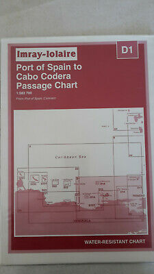 Imray-Lolaire D1 Port of Spain to Cabo Codera Passage Chart