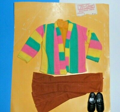 "Clone Ken size DOLL CLOTHES ""TWO GUYS"" DEPARTMENT store New vintage 1970's SET"