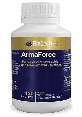 BIOCEUTICALS ArmaForce 120 Tablets - Free Postage