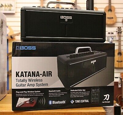Boss® Katana Air 20/30-watt Wireless Bluetooth Guitar Combo Amplifier Amp