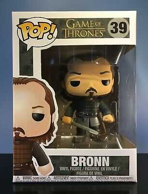 Funko POP! Game of Thrones #39 - Bronn - VAULTED/RETIRED/RARE - NEAR MINT