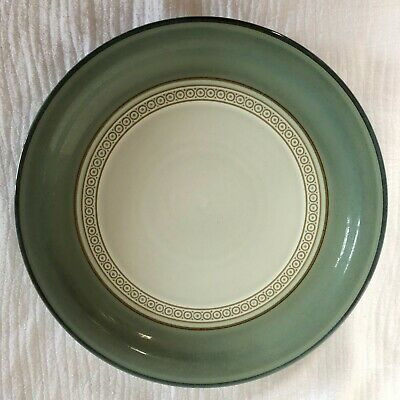 "Denby Langley Venice Green Salad Plate 9"" Stoneware England"