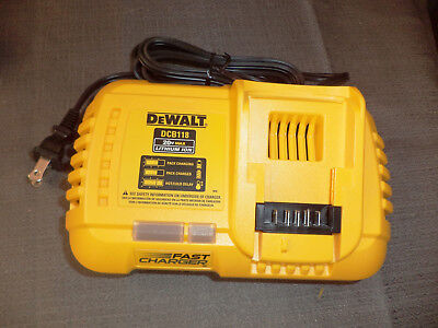 NEW DeWALT DCB118 20V 60V MAX FLEXVOLT Lith-Ion Fan Cooled Battery Charger