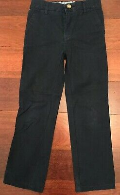 Tommy Hilfiger Boys Navy Blue Pants Size 6/7 - Excellent Condition!
