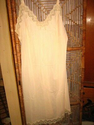 Vintage/ New Fawn Pettycoat / Slip Size18 Great Looking Grab A Bargain (Washed)