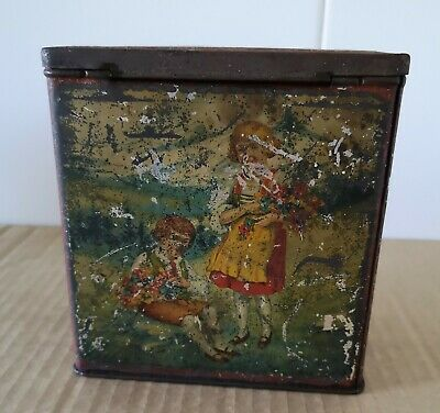 Rare Early Arnotts Biscuit Tin