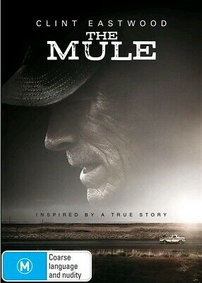 The Mule (DVD, 2019) Region 4 - Brand-New! Sealed!