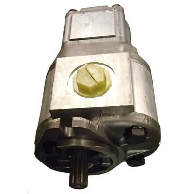 6665552 New Ind Construction Hydraulic Double Gear Pump made to fit Bobcat