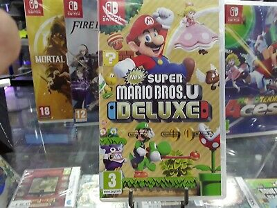 PROMO NEW SUPER MARIO BROS U  Nintendo Switch - Version Française NEUF/NEW
