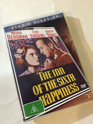 'THE INN OF THE SIXTH HAPPINESS' 1958 Region 4 DVD - Ingrid Bergman