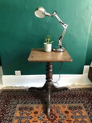 Victorian Rustic Oak Side Table Coffee Table Antique Vintage