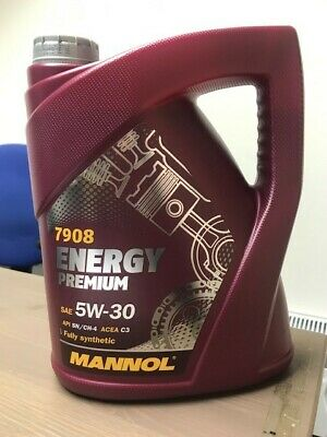 Mannol 5W30 C3 5L Engine Oil Fully Synthetic Energy Premium