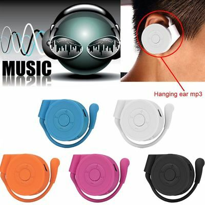 Portable Earhook USB Digital MP3 Music Player Support 32GB Micro SD TF Card SALE