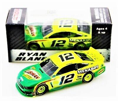 Ryan Blaney 2019 ACTION 1:64 #12 Libman Ford Mustang Nascar Monster Diecast